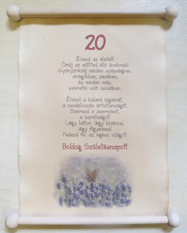 születésnapi versek 20 éveseknek Születésnapra | Pipitér Ajándék fatárgyak.hu Webáruház születésnapi versek 20 éveseknek