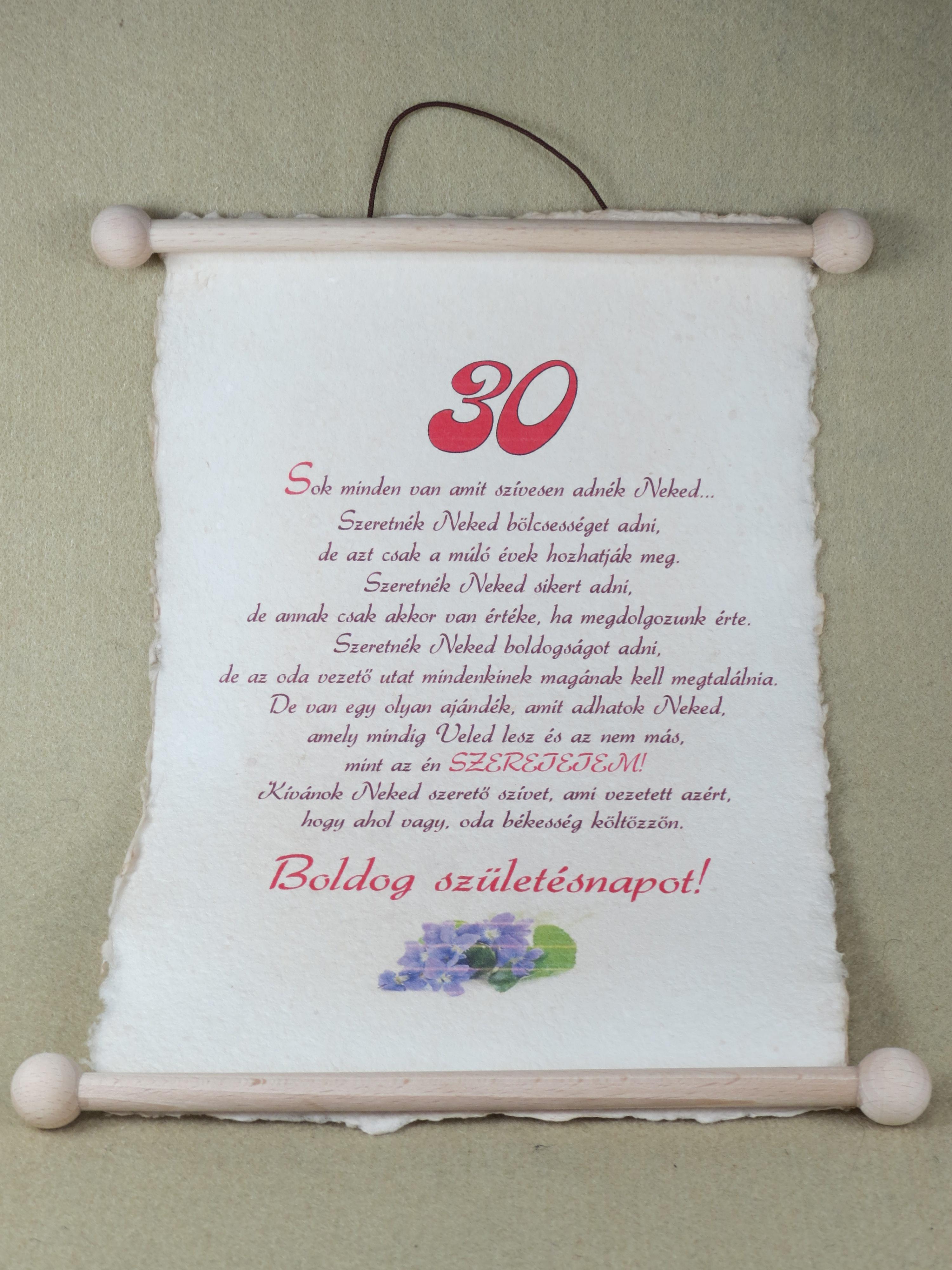 30 születésnapra köszöntő Vers Születésnapra   MuzicaDL 30 születésnapra köszöntő